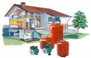 Системы водоснабжения и отопления.Профессиональный подбор и монтаж