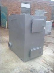 Твердотопливный пиролизный котел серии KFVP-100 от производителя.
