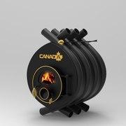 Дровяная печь калориферная Canada classic 1000 м3 Кагарлик Нещеров
