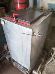 Котел шахтного типа 15 кВт с ручной регулировкой тяги