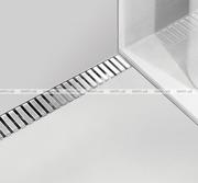 Решетка водосточная Alca Plast Line-300L